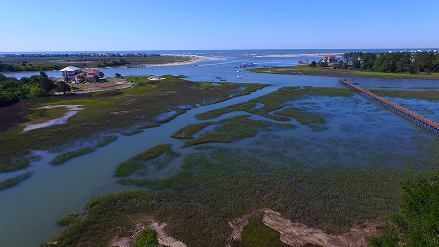 2.5 Acre Waterfront Property Shallotte Inlet