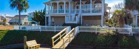 Four Winds Seven Bedroom Rental House Ocean Isle Beach Canal